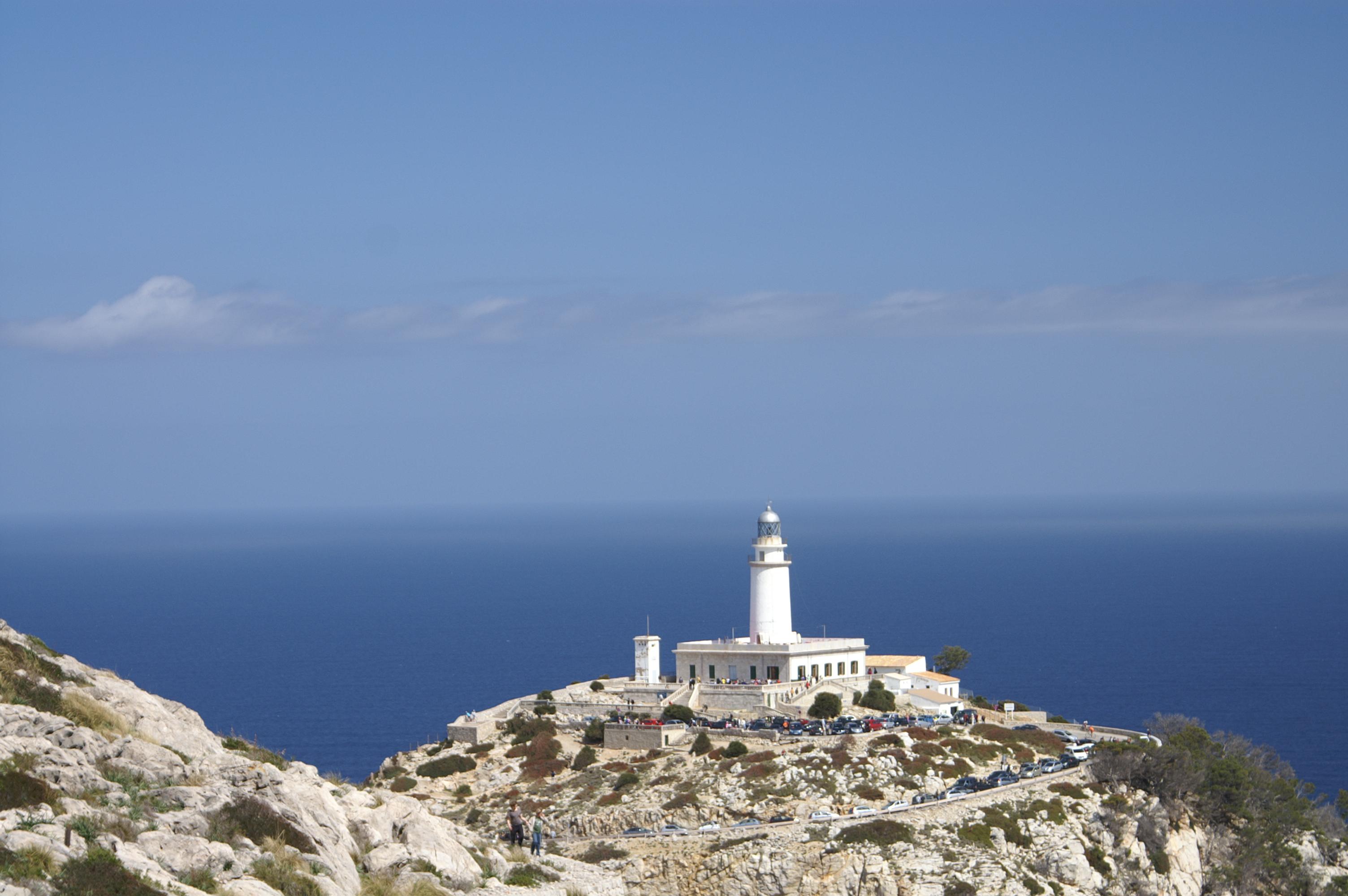Maják na poloostrově Formentor